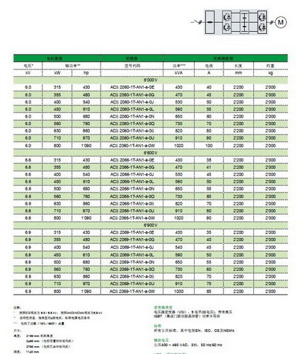 ABB ACS 2066-1T-AN1-a-0Q中压变频器产品说明书截图2
