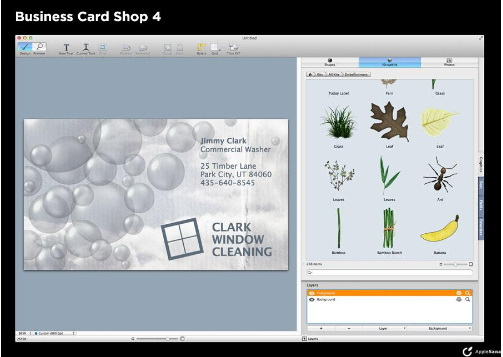 Business Card Shop For Mac截图1