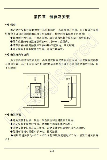 方禾F66E-2030变频说明书