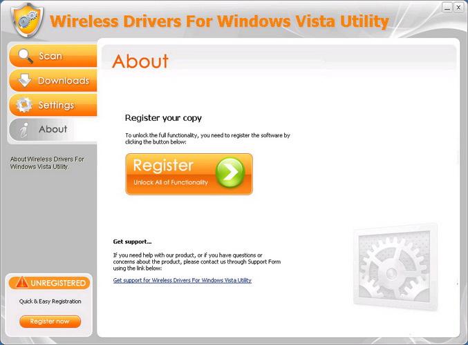 Wireless Drivers For Windows Vista Utility截图1