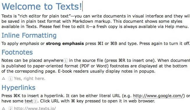 Texts For Mac截图1