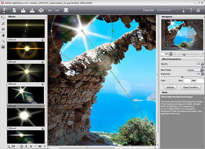 AKVIS LightShop For Mac截图1