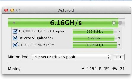 Asteroid For Mac截图1