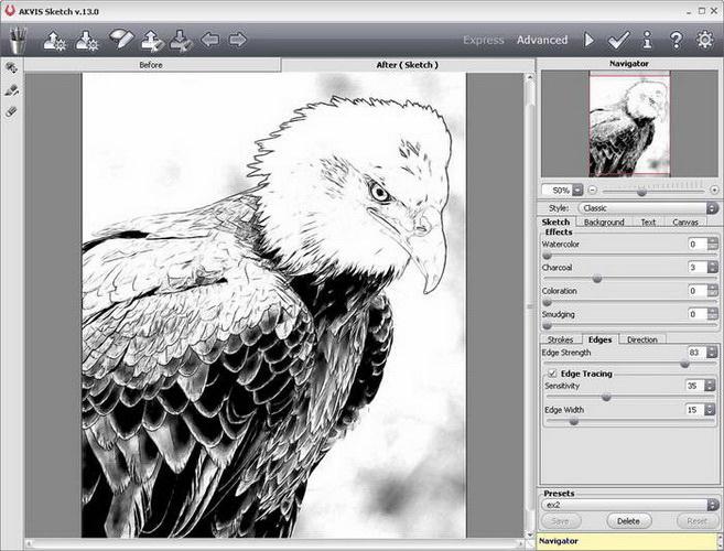 AKVIS Sketch Plugin For Mac截图1