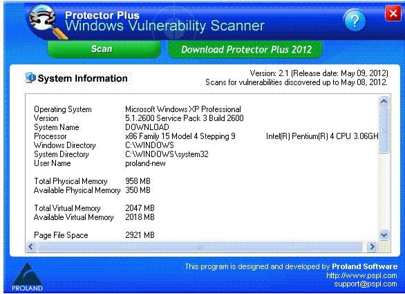 Free Windows Vulnerability Scanner