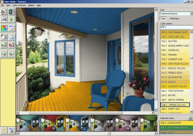 Color Style Studio exterior paint colors截图1