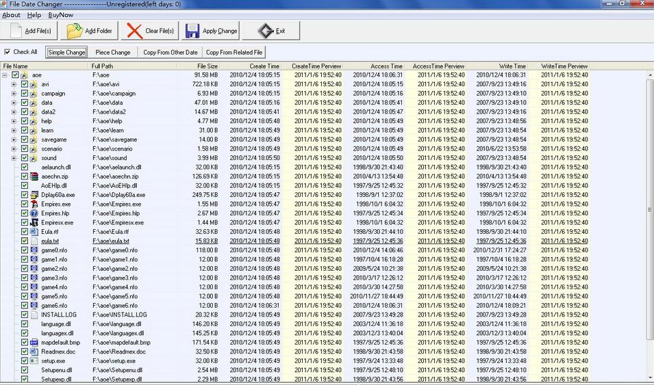 File Date Change截图1