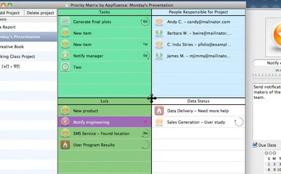 Priority Matrix For Mac截图1
