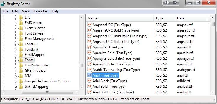 Virtual Font Folder截图1