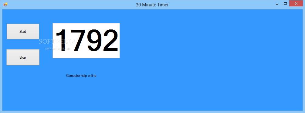 30 Minute Timer截图1