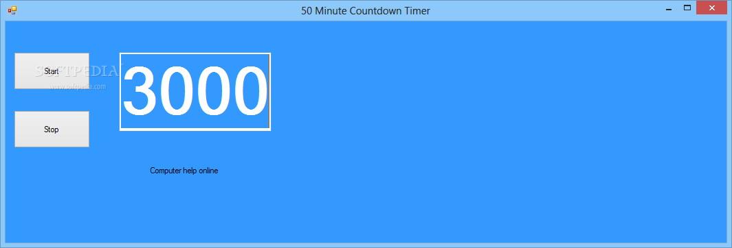 50 Minute Countdown截图1