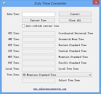 Zulu Time Converter截图1