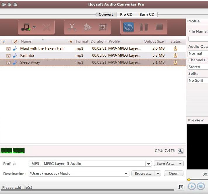 iJoysoft Audio Converter Pro for Mac截图1