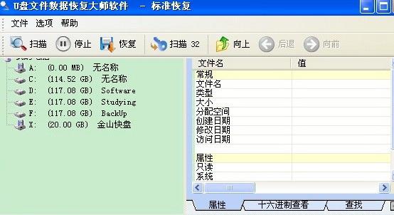 U盘格式化后数据恢复软件