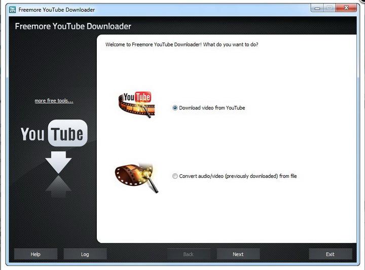 Freemore YouTube Downloader截图1