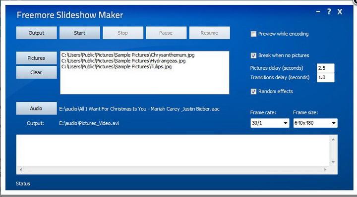 Freemore Slideshow Maker