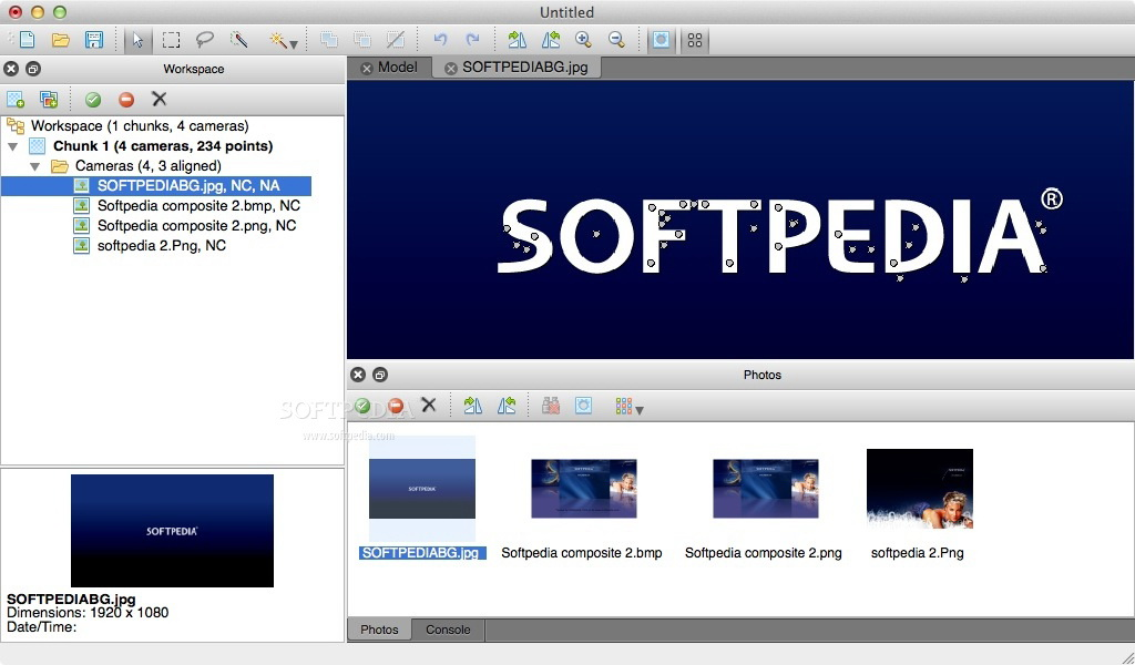 PhotoScan Standard For Mac截图1