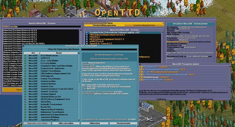 OpenTTD For Linux Generic Binaries (x86_64, 64bit)截图1