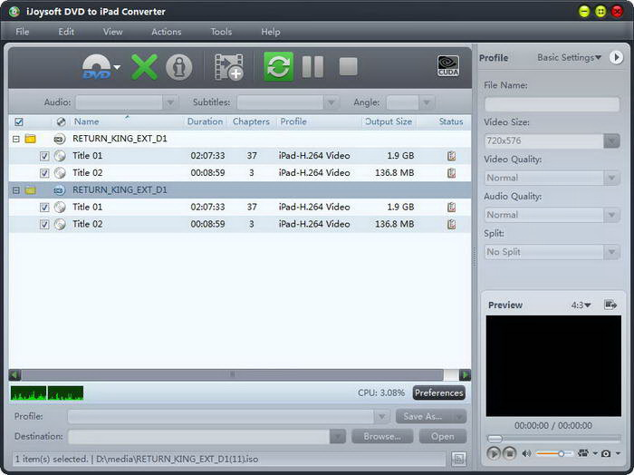 iJoysoft DVD Ripper ultimate for Mac