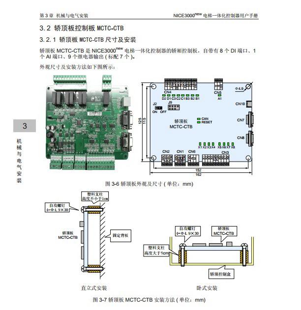 汇川NICE-L-C-4022电梯一体化控制器用户手册截图1