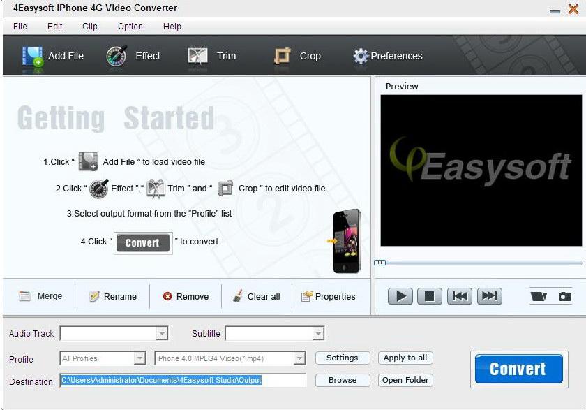 4Easysoft iPhone 4G Video Converter