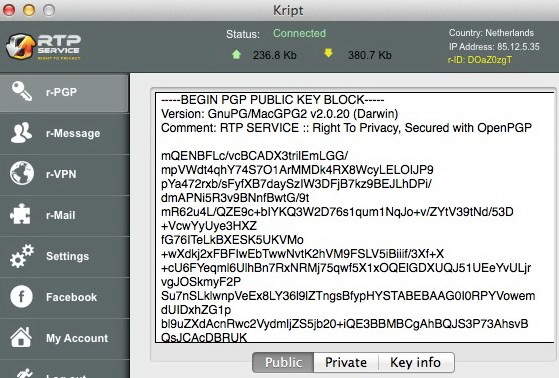 Kript For Mac截图1