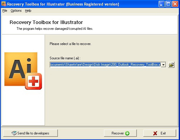 Recovery Toolbox for Illustrator截图1