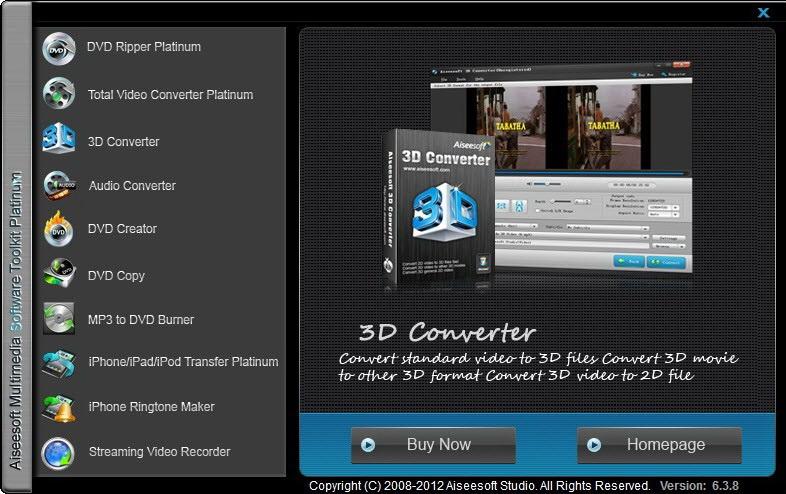 Aiseesoft Multimedia Toolkit Platinum截图1