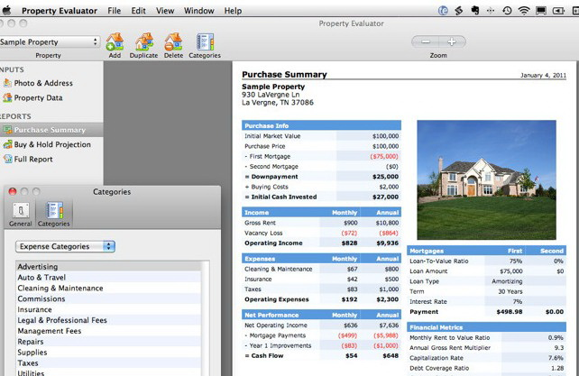 Property Evaluator For Mac