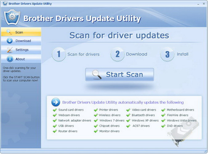 Brother Drivers Update Utility截图1