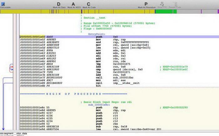 Hopper Disassembler For Arch Linux(64bit)截图1