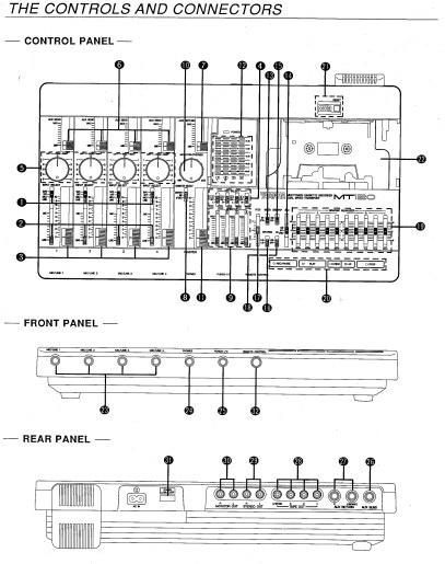 雅马哈MT120声乐处理器说明书截图2