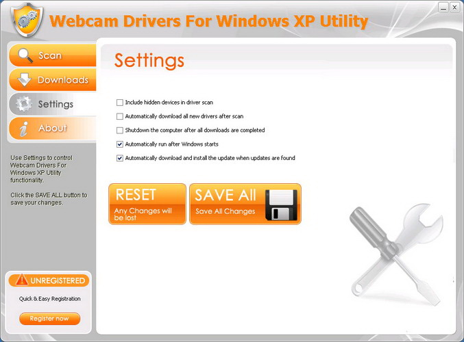 Webcam Drivers For Windows XP Utility截图2