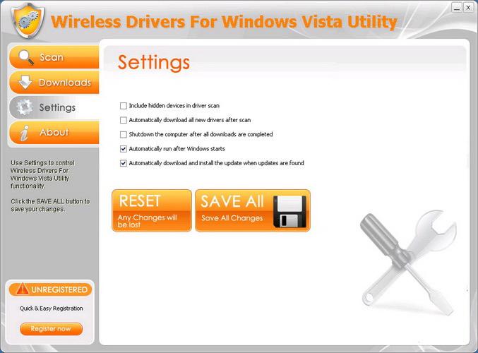 Wireless Drivers For Windows Vista Utility截图2