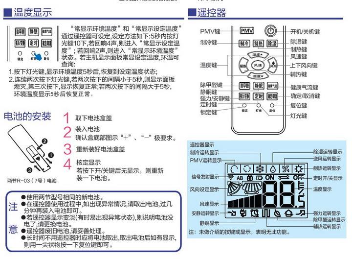 海尔KFR-32GW/06NFA23A(银)家用空调使用安装说明书截图2