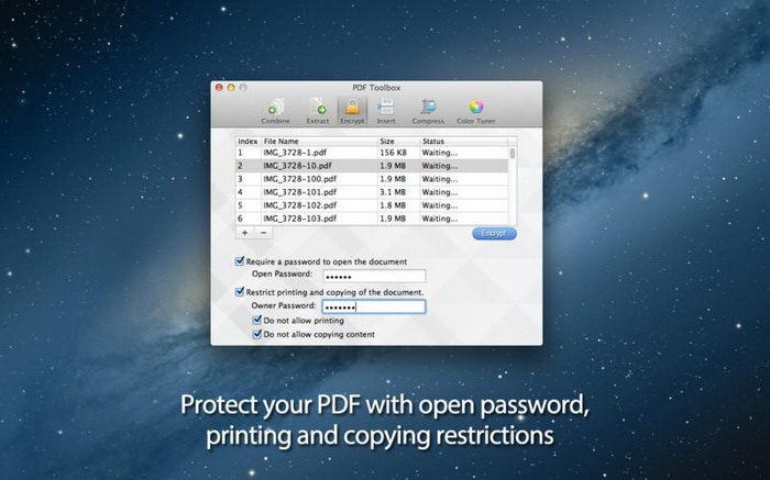 PDF Toolbox For Mac截图2