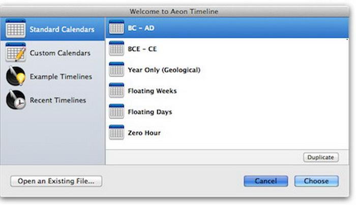 Aeon Timeline For Mac截图2