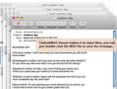 Outlook MSG Viewer For Mac截图1