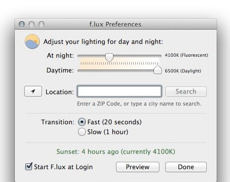 f.lux For Linux64截图1