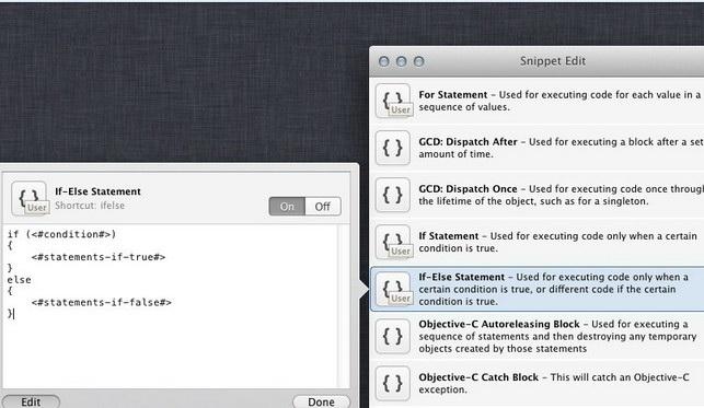 Snippet Edit For Mac截图1