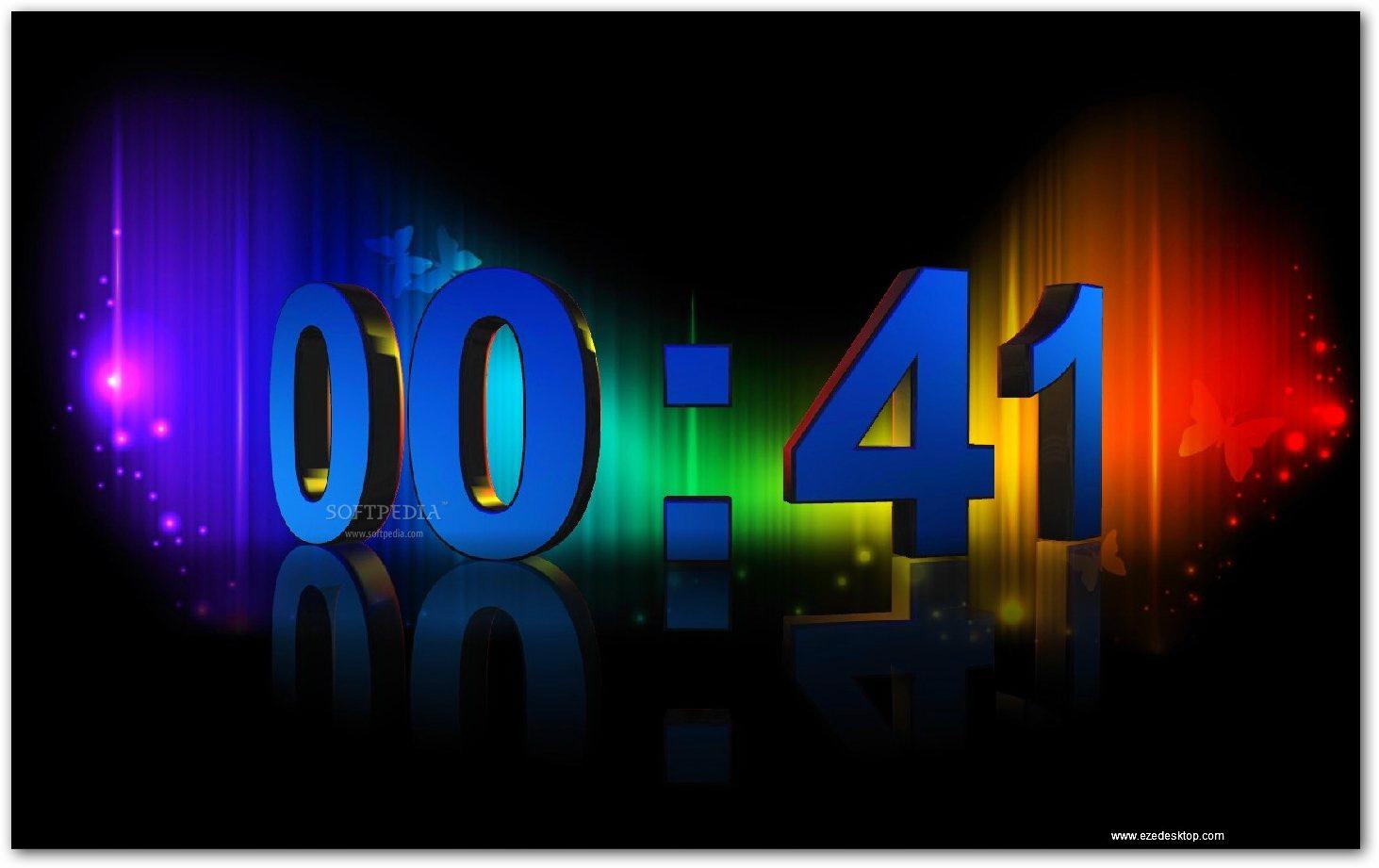 3D Numeric Clock截图1