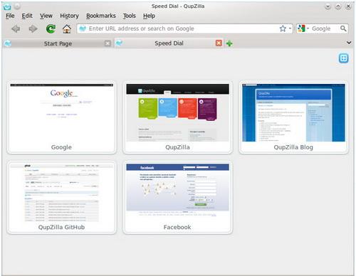 QupZilla for MAC截图1