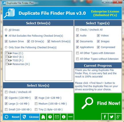 Duplicate File Finder Plus截图1