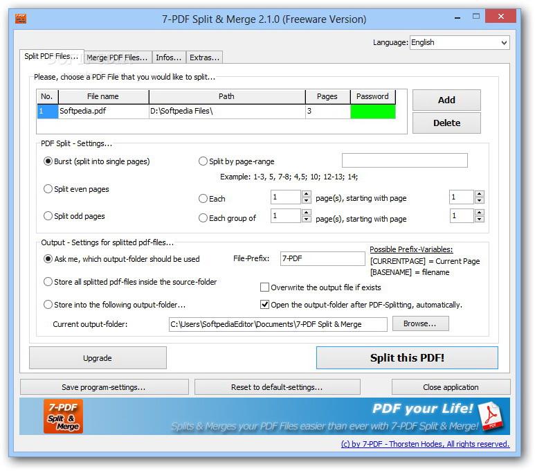 7-PDF Split & Merge截图1