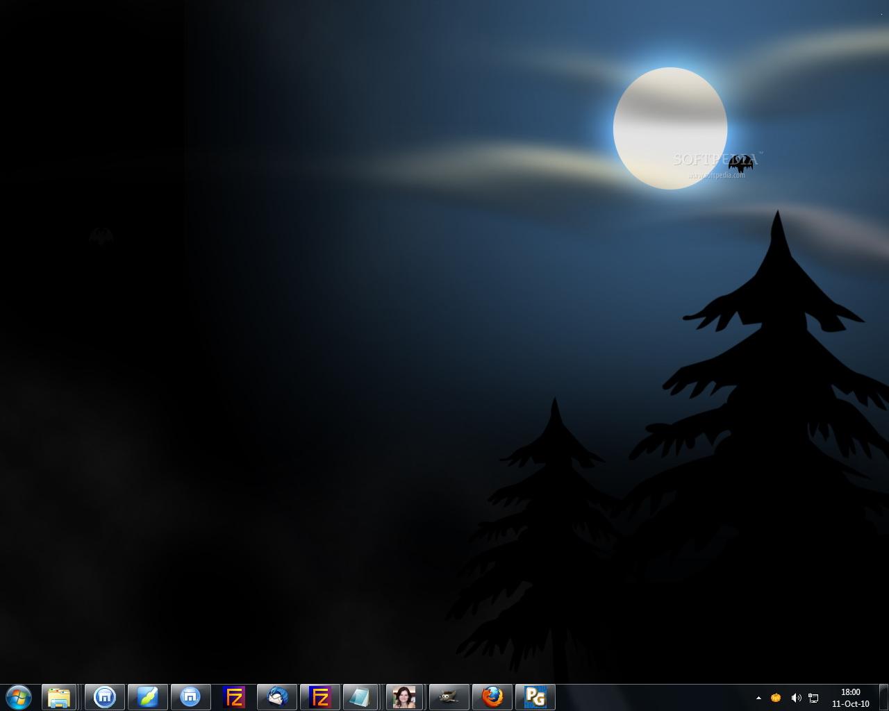 Animated Halloween Desktop Wallpaper截图1
