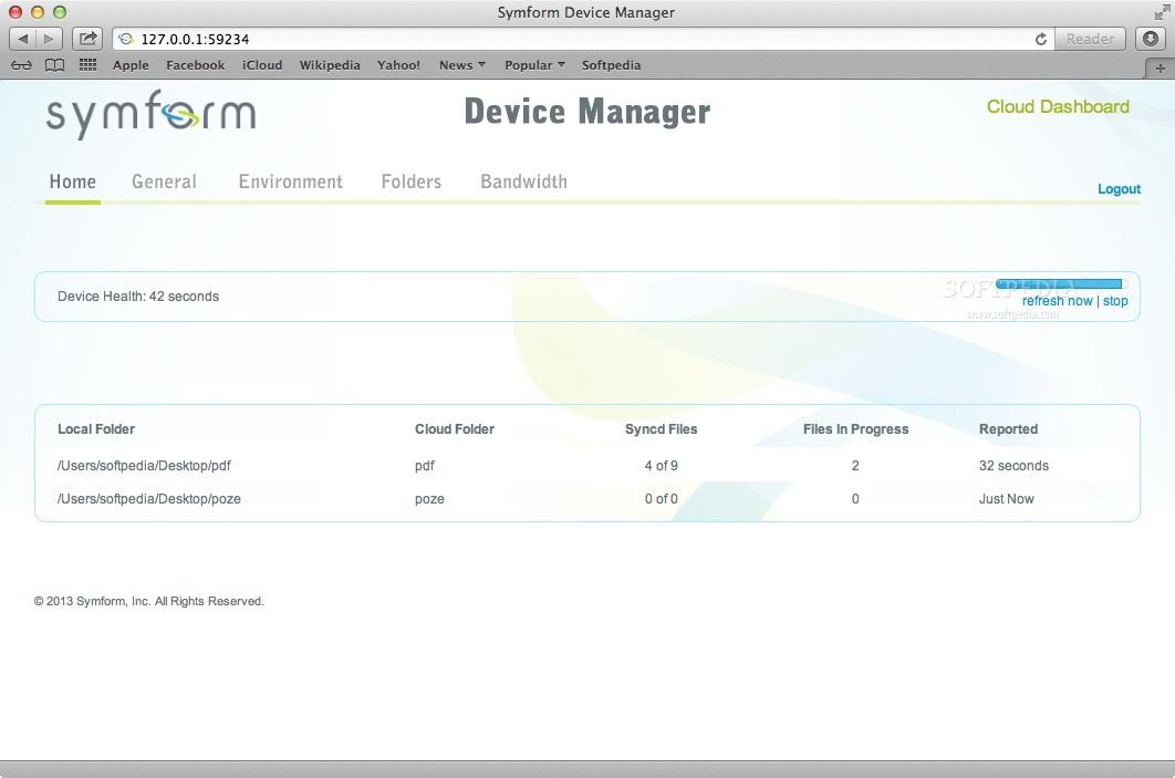 Symform For Mac截图1