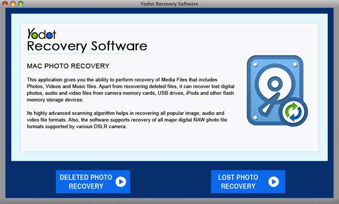 Yodot Mac Photo Recovery