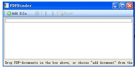 PDFBinder(PDF合并工具)截图1
