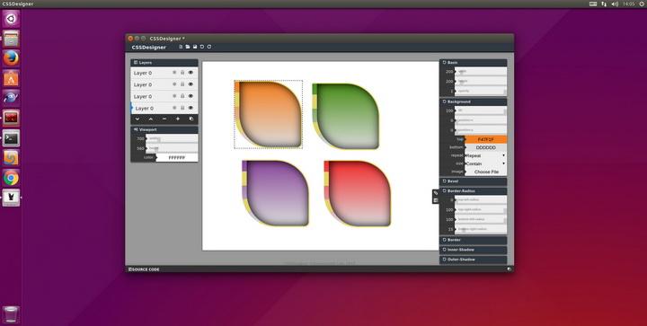 CSSDesigner for Linux截图1
