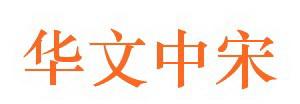华文中宋字体截图2